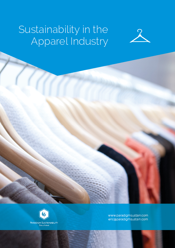 Cover of the apparel white paper