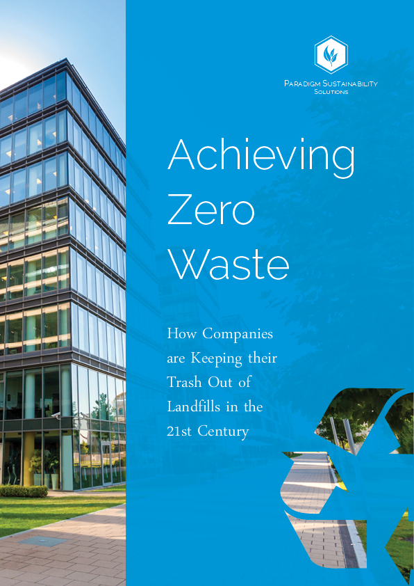 Cover of the zero waste white paper